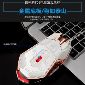 Leopard Mouse Gaming LED RGB 3200 DPI - T03 - Black - 8
