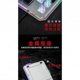 Single Hand Gaming Keyboard RGB - G40 - Black - 5