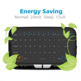 Zeepin Wireless Touchpad Qwerty Keyboard Rechargeable 2.4GHz - H18 - Black - 5