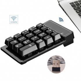 Etmakit Numeric Keypad Numpad Wireless 2.4GHz - 119477 - Black - 1