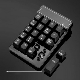 Etmakit Numeric Keypad Numpad Wireless 2.4GHz - 119477 - Black - 8