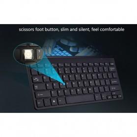 Kimsnot Wireless Keyboard Mouse Combo 2.4G - JP106 - Black - 8