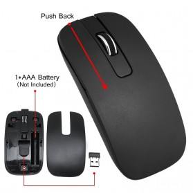 Dotda Wireless Keyboard Mouse Combo 2.4G - JP115 - Black - 5