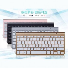 Dotda Wireless Keyboard Mouse Combo 2.4G - JP115 - Black - 6