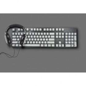 PBT Keycaps Mechanical Keyboard PBT 104 Keys English for Cherry MX Switch - Cyan - 5