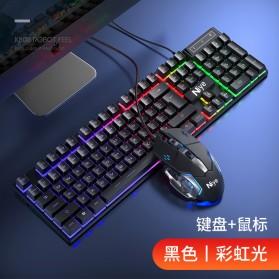 Jual PC Gaming - NIYE Gaming Keyboard RGB LED with Mouse - K803 - Black