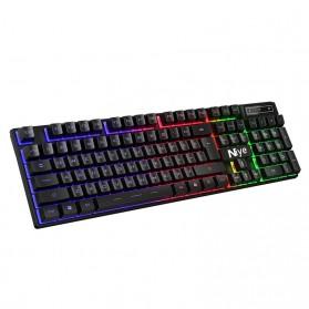 NIYE Gaming Keyboard RGB LED with Mouse - K803 - Black - 4