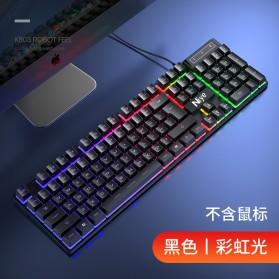 NIYE Gaming Keyboard RGB LED with Mouse - K803 - Black - 7