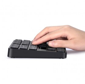 BEESCLOVER Keypad Numeric Multimedia  Wireless 2.4GHz 35 Buttons - R57 - Black - 2