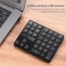 BEESCLOVER Keypad Numeric Multimedia  Wireless 2.4GHz 35 Buttons - R57 - Black - 6