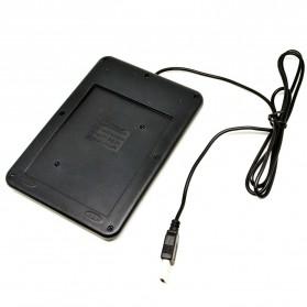 Portable USB Numeric Keypad - K-015 - Black - 4