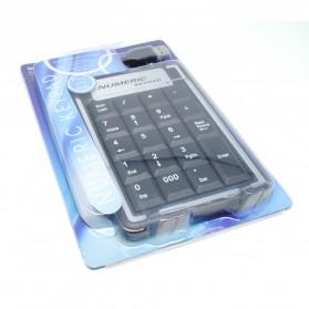 Portable USB Numeric Keypad - K-015 - Black - 5