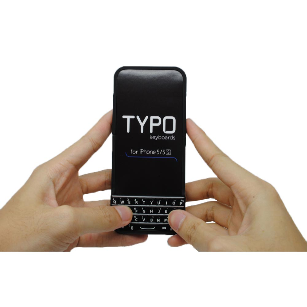 low priced 3bb1e b6f20 Typo Keyboard Case for iPhone 5/5s/SE - Black