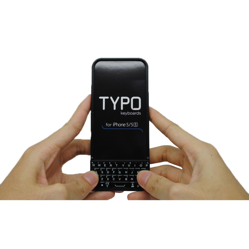 ... Typo 2 Keyboard Case QWERTY for iPhone 5/5s/SE - Black - 1 ...