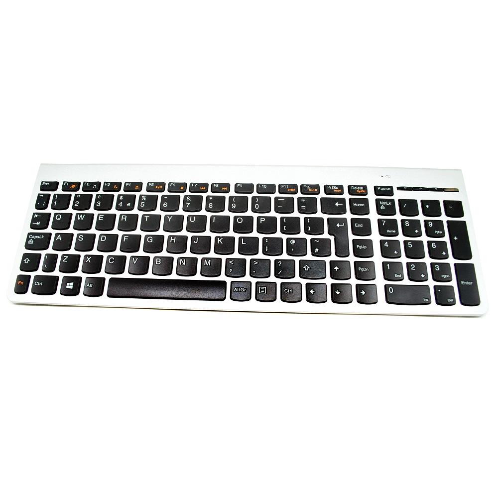 Lenovo Ultraslim Plus Wireless Keyboard And Mouse Sm 8861 Lang Uk Logitech Mk235 Combo Black Hitam Silver 2