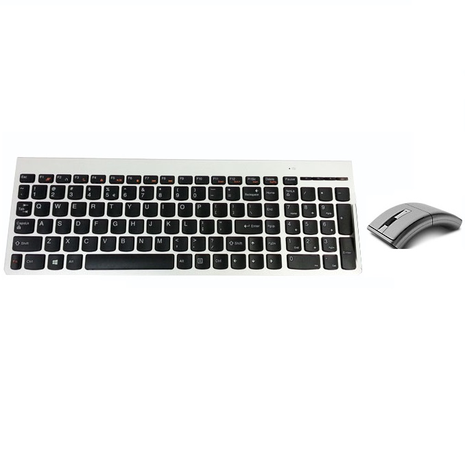 lenovo ultraslim plus wireless keyboard and mouse n70 lang taiwan silver. Black Bedroom Furniture Sets. Home Design Ideas