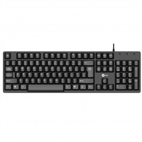Lenovo Lecoo Keyboard Wired - KB101 - Black