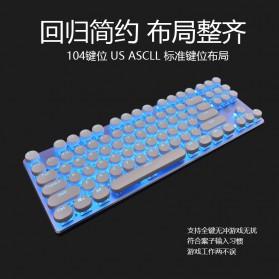 Remax Mechanical Gaming Keyboard - XII-J590 - White - 2