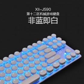 Remax Mechanical Gaming Keyboard - XII-J590 - White - 3