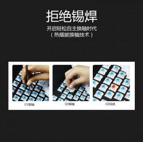 Remax Mechanical Gaming Keyboard - XII-J590 - White - 8