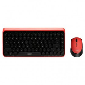 Remax Wireless Gaming Keyboard Mouse Combo - XII-MK801 - Black