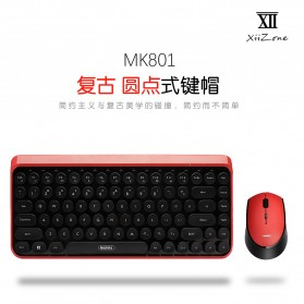 Remax Wireless Gaming Keyboard Mouse Combo - XII-MK801 - Blue - 2