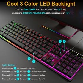 iMice Gaming Keyboard RGB Backlit - AK-600 - Black - 3