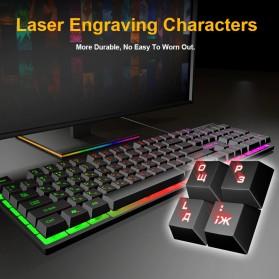 iMice Gaming Keyboard RGB Backlit - AK-600 - Black - 5
