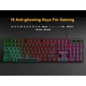 iMice Gaming Keyboard RGB Backlit - AK-600 - Black - 7