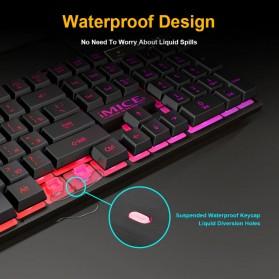 iMice Gaming Keyboard RGB Backlit - AK-600 - Black - 9