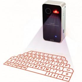 Bluetooth Virtual Keyboard - Silver