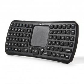 Seenda Bluetooth Keyboard Multifungsi dengan Touchpad & Mouse - Black