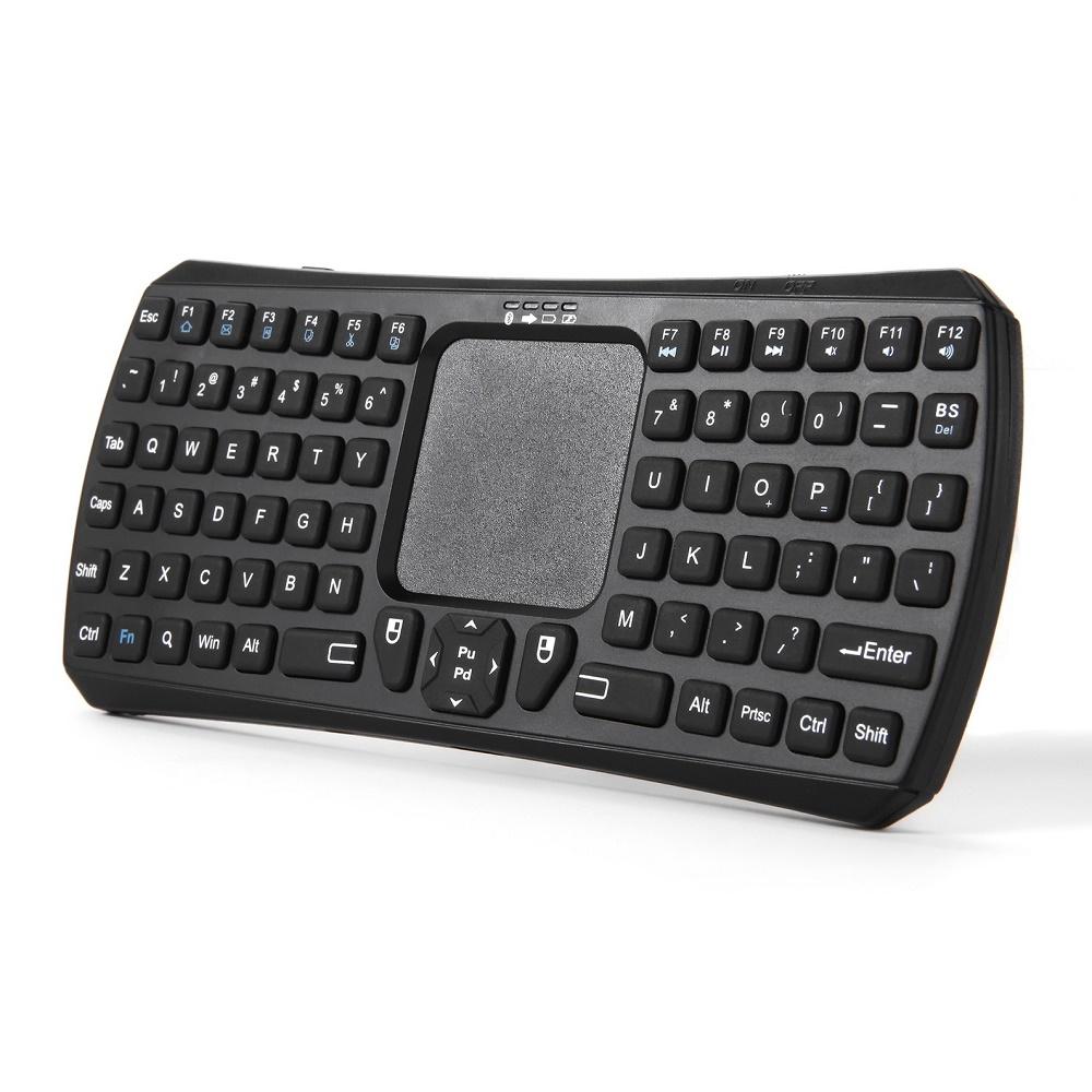 Seenda Bluetooth Keyboard Multifungsi Dengan Touchpad & Mouse