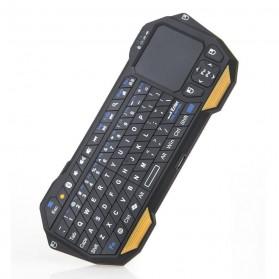 QQ Keyboard Bluetooth Mini dengan Touchpad & Mouse - Black - 4