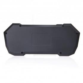 QQ Keyboard Bluetooth Mini dengan Touchpad & Mouse - Black - 5