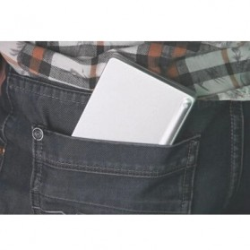 Keyboard Bluetooth Three Folding Magnetic - Silver - 8