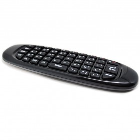 Mini Wireless Air Mouse Keyboard 2.4GHz - Black - 2