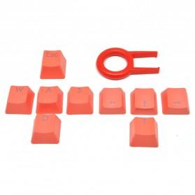 Keycap Pengganti Mechanical Keyboard dengan Pengungkit - Orange