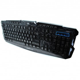 USB Wired Gaming Keyboard with LED Backlight - M-200 - Black