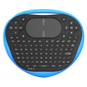 Air Mouse Wireless Keyboard 2.4GHz Dengan Touch Pad - T8 - Blue - 2