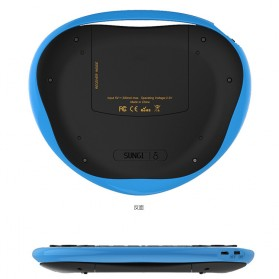 Air Mouse Wireless Keyboard 2.4GHz Dengan Touch Pad - T8 - Blue - 3