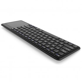 Keyboard Wireless dengan Touchpad - Black