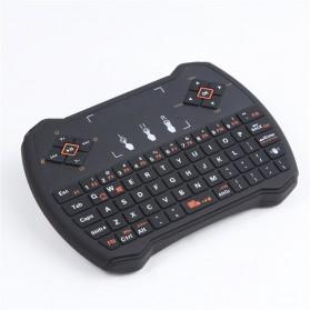 EastVita Keyboard Genggam Wireless dengan Touch Pad - V6 - Black