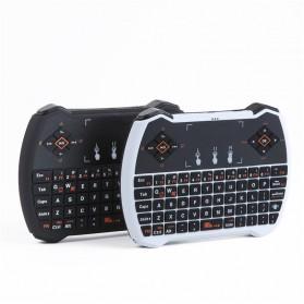 EastVita Keyboard Genggam Wireless dengan Touch Pad - V6 - Black - 6