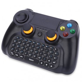 DOBE Keyboard Gamepad Wireless dengan Touch Pad -  TI-501 - Black - 3