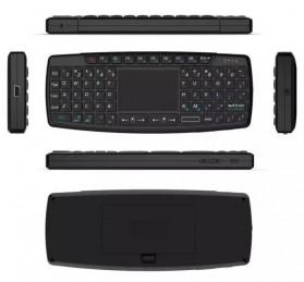 Keyboard Wireless Mini dengan Touch Pad - KB168 - Black - 7