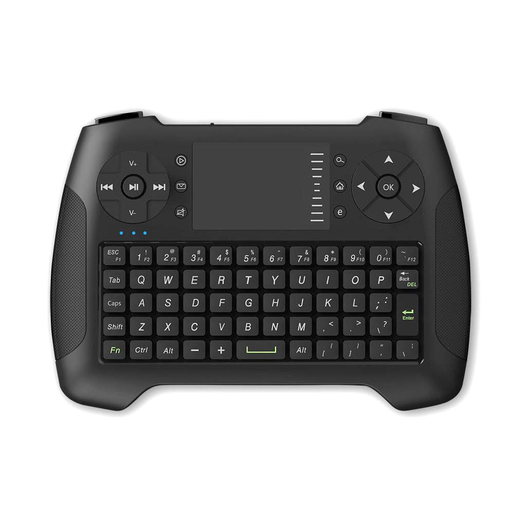 15e957a7c7f ... Keyboard Wireless Mini dengan Touchpad - T16 - Black - 1 ...