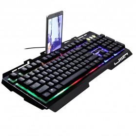 Leopard G700 Gaming Keyboard LED - Black - 2