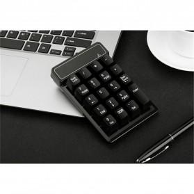 AVATTO Keypad Numeric Wireless dengan Numpad Triple Nol 2.4GHz - 171003 - Black - 2