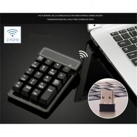 AVATTO Keypad Numeric Wireless dengan Numpad Triple Nol 2.4GHz - 171003 - Black - 3